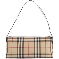 Pre-owned Burberry Nova Check Shoulder Bag