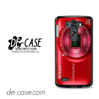 Nikon Red Coolpix For LG G3 Case Phone Case Gift Present YO