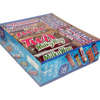 M&M-Mars Candy Bars: 30-Piece Variety Pack