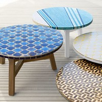 Mosaic Tiled Coffee Table Collection