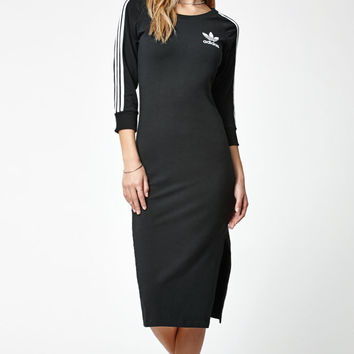 adidas 3-Stripes Bodycon Midi Dress at PacSun.com