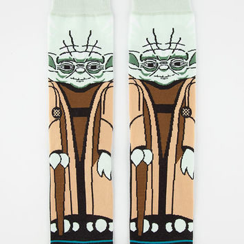 Stance X Star Wars Yoda Mens Socks Black Combo  In Sizes