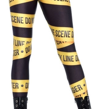 Crime Scene Leggings