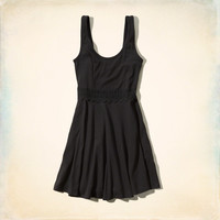 Westward Beach Knit Skater Dress
