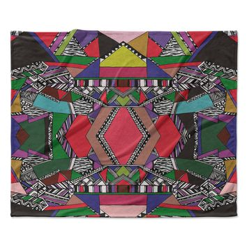 "Vasare Nar ""African Motif"" Fleece Throw Blanket"