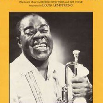 What A Wonderful World Songbook