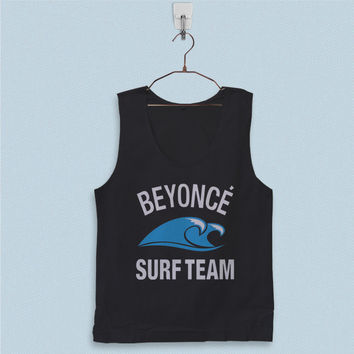 Men's Basic Tank Top - Beyonce Surf Team