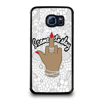 BEYONCE I CAME TO SLAY Samsung Galaxy S6 Edge Case Cover
