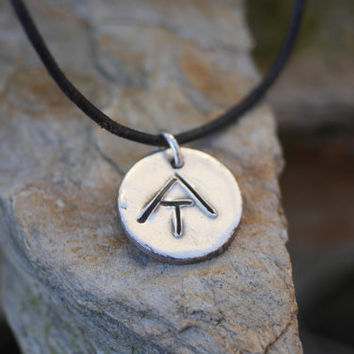 Appalachian Trail necklace, AT sign necklace, hiking necklace - rustic silver necklace for hikers