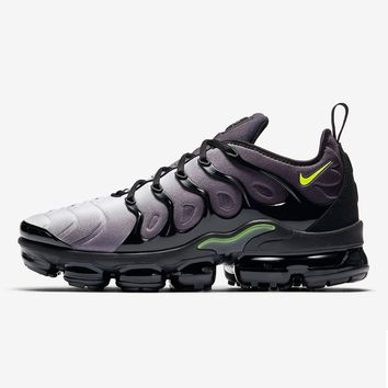 Nike Air VaporMax Plus Black Volt Neon 95  075be781d0