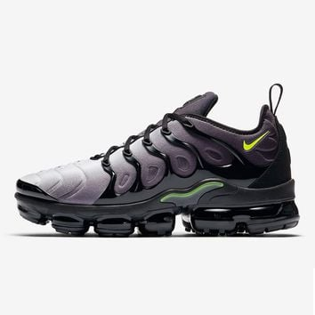 Nike Air VaporMax Plus Black Volt Neon 95 | 924453-009 Sport Running Shoes - Best Online Sale