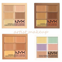 NYX Conceal, Correct, Contour Palette 3CP - *Pick Your Color*