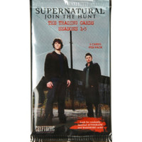 Supernatural Seasons 1-3 Trading Cards