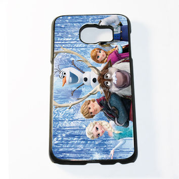 Frozen Olaf The Snowman Samsung Galaxy S6 and S6 Edge Case