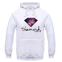 Men's Hoodies, hooded , diamond supply fleece warm