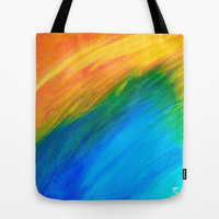 Field of Dreams Tote Bag by Sierra Christy Art