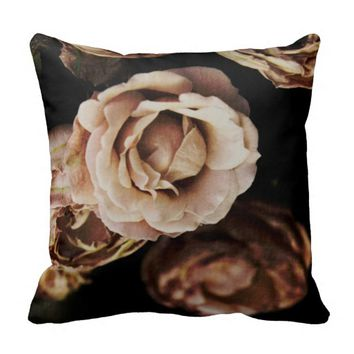Roses photography pillow