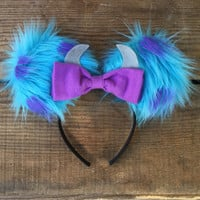 Sulley Monsters Inc. Inspired Mickey Ears