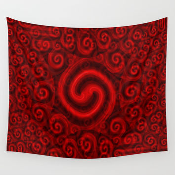 Red Christmas Decoration #5 Wall Tapestry by Moonshine Paradise | Society6
