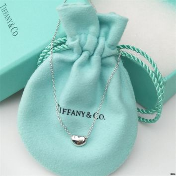 hcxx T002 Tiffany peas necklace 925 sterling silver rich beans Acacia beans