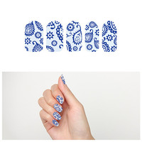 Denim on Denim - Nail Wraps (Set of 22)