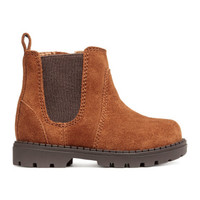 H&M Suede Ankle Boots $34.99