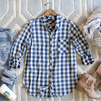 The Scout Plaid Top