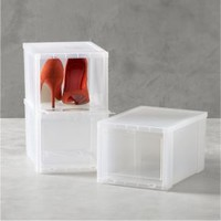 Small Clear Shoe Box