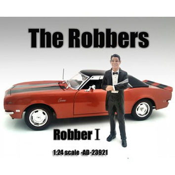 """""""The Robbers"""" Robber I Figure For 1:24 Scale Models by American Diorama"""
