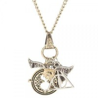 Harry Potter 4 Charm Necklace
