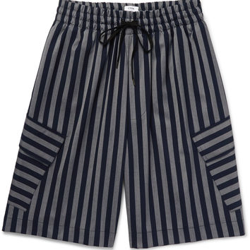 CMMN SWDN - Cody Striped Woven Shorts