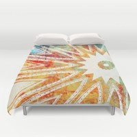 GRUNGE KISS Duvet Cover by Heaven7 | Society6