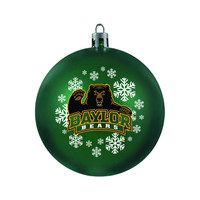 Baylor Bears Ornament - Shatterproof Ball