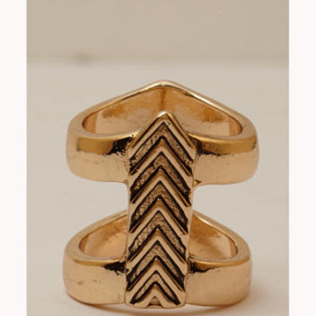 Caged Chevron Ring | FOREVER 21 - 1076280949