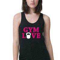 Work Out Tank - Gym Love Shirt - Kettlebell Shirt - WOD - Gym Tank - Workout Shirt - Gym Shirt - Weight Lifting Tank - Body Bodying Tank