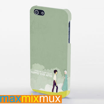 Howl'S Moving Castle Quotes iPhone 4/4S, 5/5S, 5C Series Full Wrap Case
