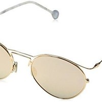 Dior DIORORIGINS1 Round Geometric Sunglasses, Gold