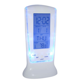 Clocks Frozen Led Digital Clock Despertador Desk Bedside Alarm Clock Calendar Date Time Night Light Electronic Watch Square