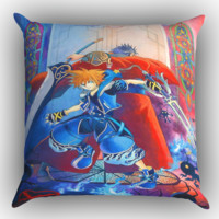 Kingdom Hearts 3 X1242 Zippered Pillows  Covers 16x16, 18x18, 20x20 Inches