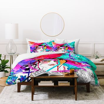 Holly Sharpe Passion Duvet Cover