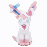 Pokémon Center Original Plush Doll Sitting Trick Pose Sylveon