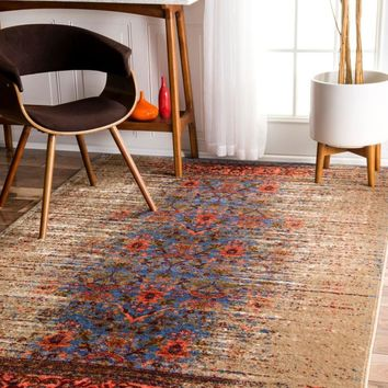 nuLOOM Distressed Birgit Area Rug