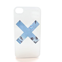 Light Blue X Palm Tree Phone Case