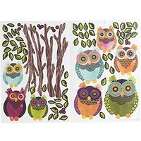 Pier 1 Imports - Product Details - Owls & Trees Wall Applique