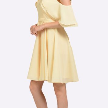 Short Homecoming Cocktail Party Dress