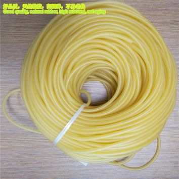 Hunting Shooting 10m Natural Latex Slingshots Rubber Tube Bow Rubber Band Catapult Elastic Part Fitness Bungee Equipment Tool