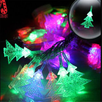 10M 100 LED Fairy String light Twinkle Garland Colorful Christmas Decoration Light Outdoor Christmas Tree Led Free shipping