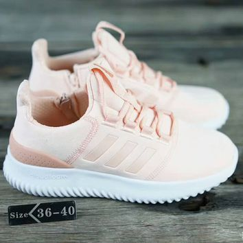 Adidas Neo Cloudfoam Ultimate Sport Running Sneakers Shoes Pink G-SSRS-CJZX