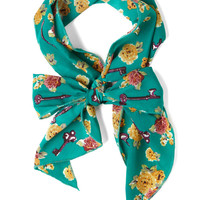 Head, Shoulders, Keys, and Toes Scarf | Mod Retro Vintage Scarves | ModCloth.com