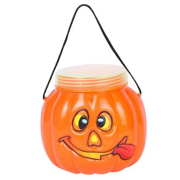 Halloween Party Pumpkin Bottle Box Candy Tank Family Children Decorative Box Bottle Box Kitchen Storage box Drop ship EY11
